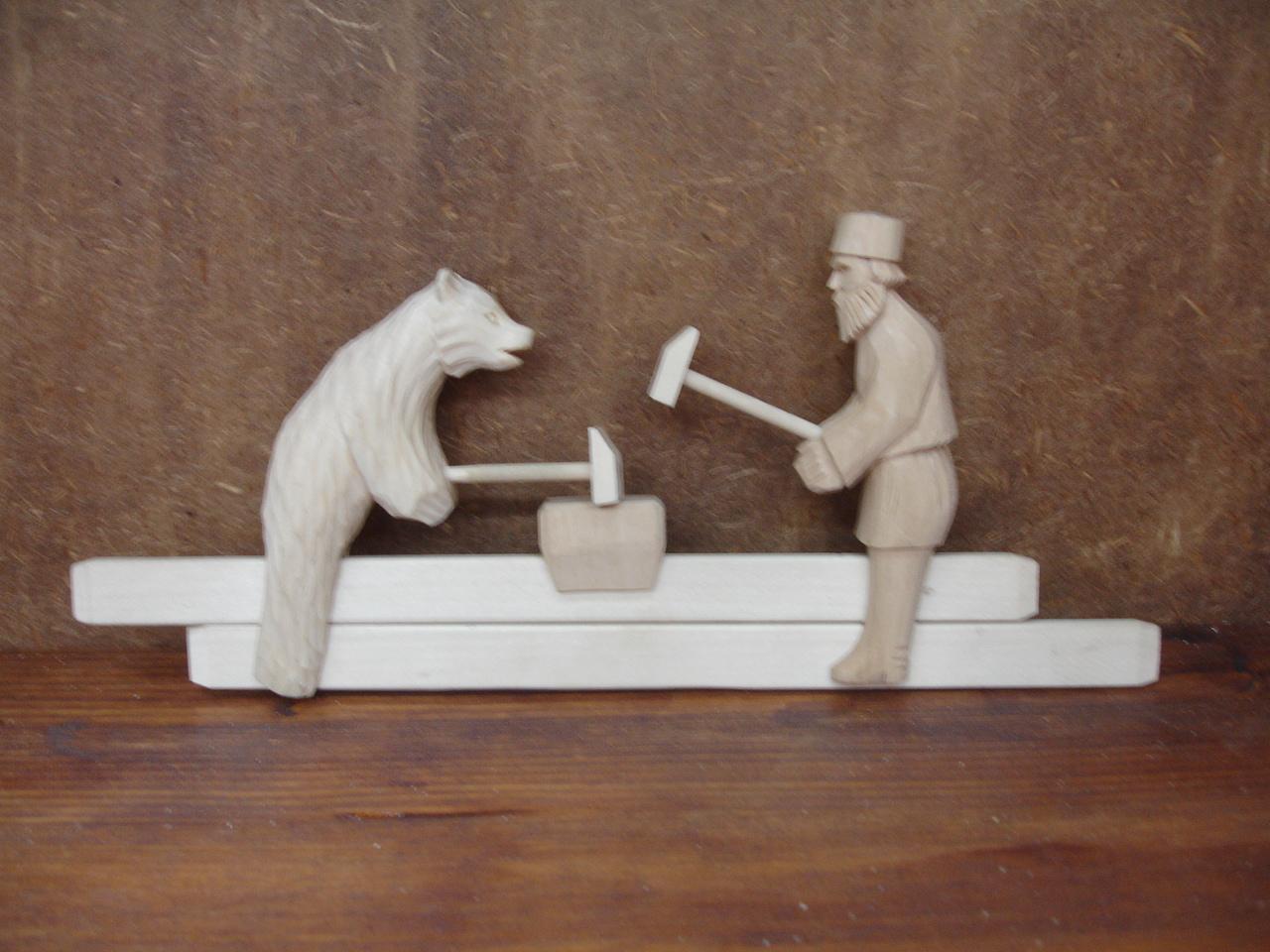 Схема игрушки кузнецы